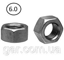 Гайки шестигранні М18 DIN 934, ГОСТ 5915-70 ГОСТ 5927-70 клас міцності 5.0, 6.0