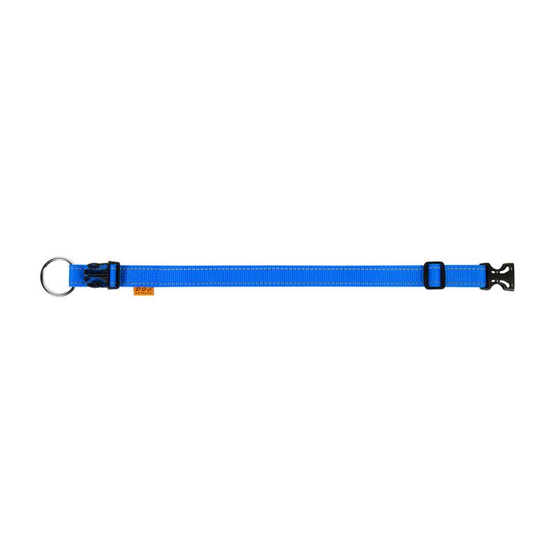 Нашийник одинарний DOG Extreme нейлон синій регульована довжина 01622 (4820082493288)