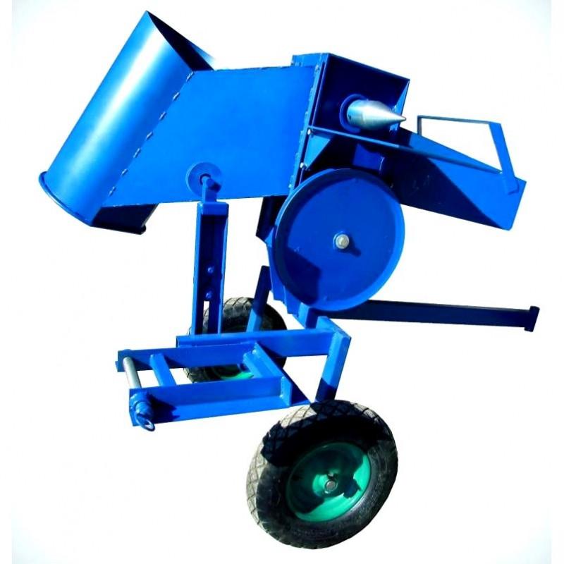 Измельчитель веток на мототрактор - дровокол ДР18 (дробилка дерева)