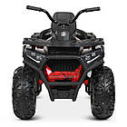 Детский одноместный электромобиль квадроцикл Bambi M 4081EBLR-3-2(SP) черно-красный с пультом управления **, фото 5