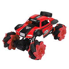 Трюкова машинка всюдихід Lesko CX-60 Red з дистанційним управлінням дитячий позашляховик