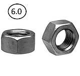 Гайки шестигранні М22 DIN 934, ГОСТ 5915-70 ГОСТ 5927-70 клас міцності 5.0, 6.0, фото 2
