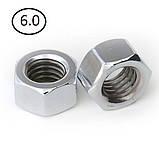 Гайки шестигранні М22 DIN 934, ГОСТ 5915-70 ГОСТ 5927-70 клас міцності 5.0, 6.0, фото 8