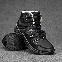 Ботинки зимние G8 набивной мех черные, фото 1