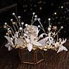 Украшение для волос, тиара, диадема Шерон, свадебные аксессуары, фото 3
