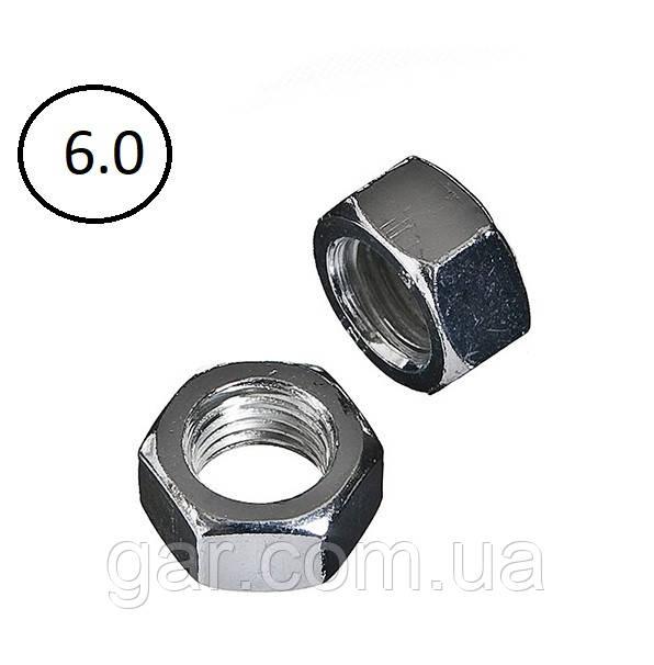 Гайки шестигранные М27 DIN 934, ГОСТ 5915-70, ГОСТ 5927-70 класс прочности 5.0, 6.0