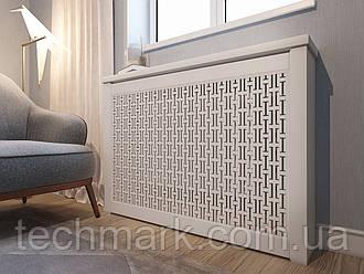 Декоративная решетка экран (короб) на батарею отопления R49-К