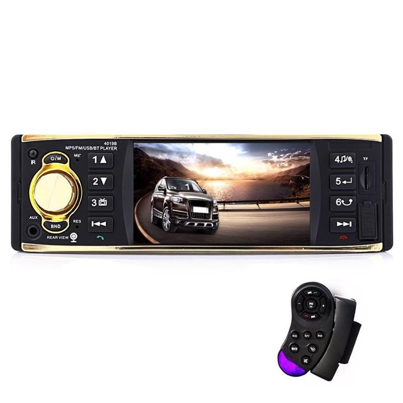 Автомагнитола 1DIN 4019 1 дин магнитола 4 дюйма экран (с пультом управления на руль)