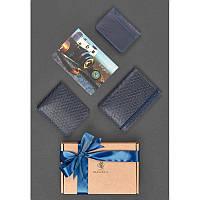 Мужской подарочный набор кожаных аксессуаров Ливерпуль, фото 1