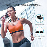 Беспроводные спортивные наушники Mifa S1 Black водозащищенная гарнитура IPX5  Bluetooth 4.2, фото 3