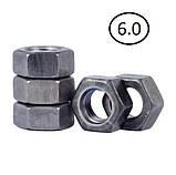 Гайки шестигранні М64 DIN 934, ГОСТ 5915-70 ГОСТ 5927-70 клас міцності 5.0, 6.0, фото 3