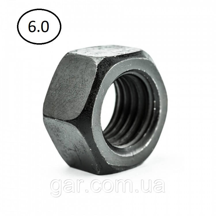 Гайки шестигранні М64 DIN 934, ГОСТ 5915-70 ГОСТ 5927-70 клас міцності 5.0, 6.0