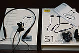 Беспроводные спортивные наушники Mifa S1 Black+Red водозащищенная гарнитура IPX5  Bluetooth 4.2, фото 8