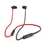 Беспроводные спортивные наушники Mifa S1 Black+Red водозащищенная гарнитура IPX5  Bluetooth 4.2, фото 10