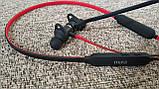 Беспроводные спортивные наушники Mifa S1 Black+Red водозащищенная гарнитура IPX5  Bluetooth 4.2, фото 9