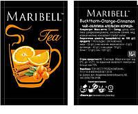 Чай концентрат Облепиха, 50г, Дой Пак TM Maribell, 25шт/уп,100шт/ящ, фото 1