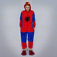 Пижама Кигуруми Спайдермен (Spidreman) , человек паук 110-140 рост (полномерка)