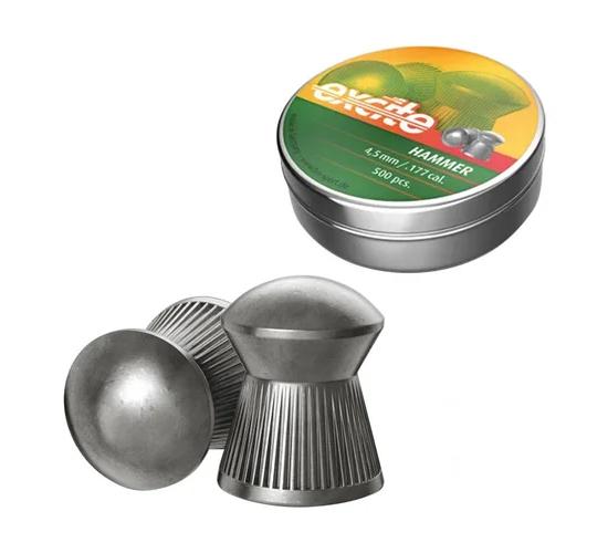 Пули пневм H&N Excite Hammer, 4,5 мм ,0.5г, 500шт/уп