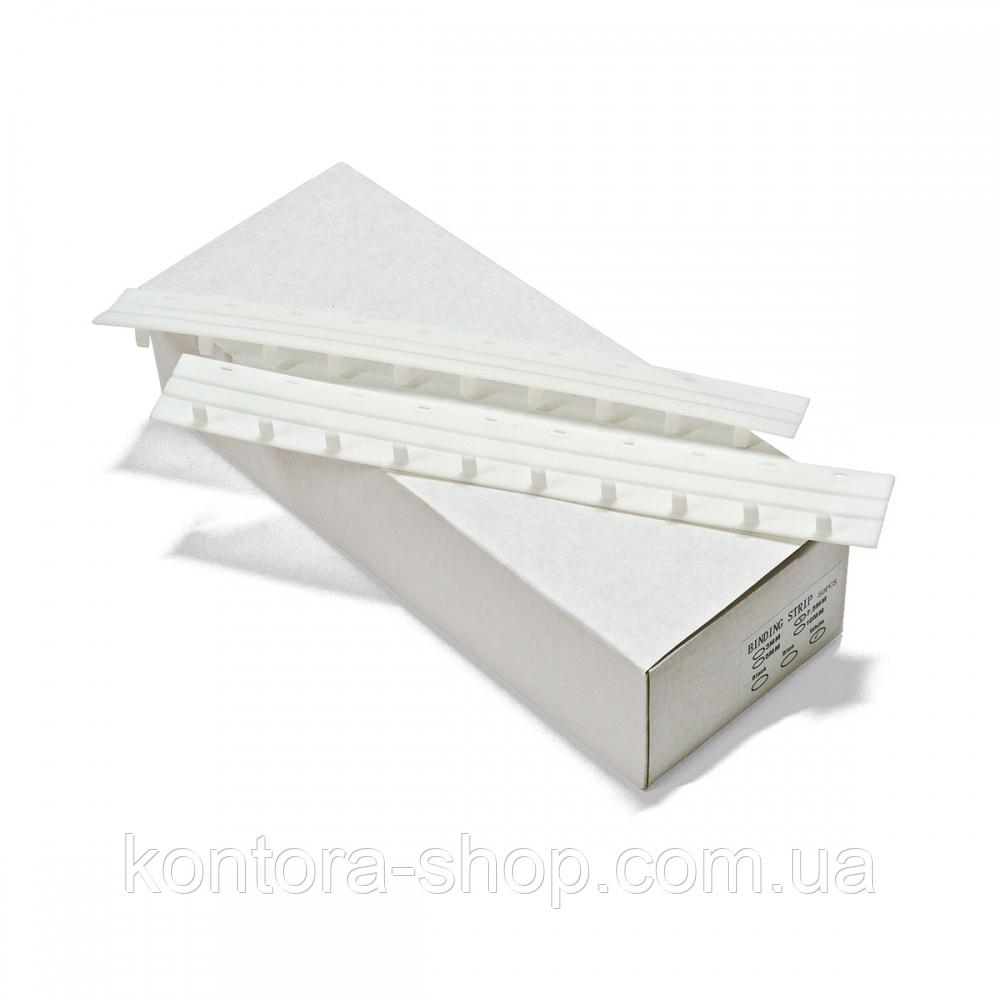 Пластины Press-Binder 5 мм белые (50 шт.)