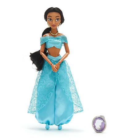 Кукла Жасмин с драгоценным кулоном - Jasmine Disney принцесса Дисней, фото 2