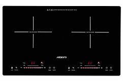 Індукційна плита Ardesto ICS-B218, 2 конфорки, 10 режимів, режим Boost, таймер, 3100 Вт
