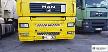 Накладки на решетку радиатора  MAN  TGA  (Широкая кабина)