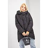 Зимняя куртка женская размер 46-48 цвет шоколад. Mangelo модель 221, фото 4