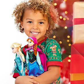 Кукла Анна с драгоценным кулоном - Anna принцесса Дисней куклы Disney, фото 2