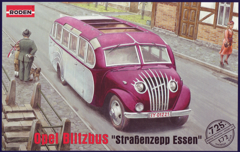 "Сборная модель ""Автобус Opel Blitzbus 'Strasenzepp Essen'"""