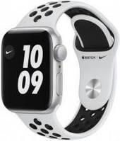 Apple Watch SE Nike Koperta 40mm Srebrna z Aluminium z Paskiem sportowym Platynowym (MYYD2WBA)