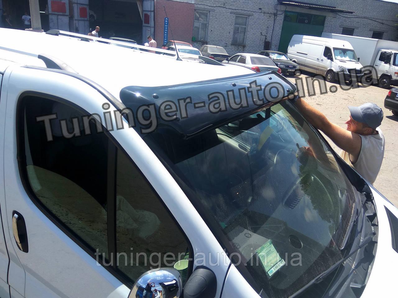 Козырек на лобовое стекло Renault Trafic/Opel Vivaro 2001-2013 (Турецкий)