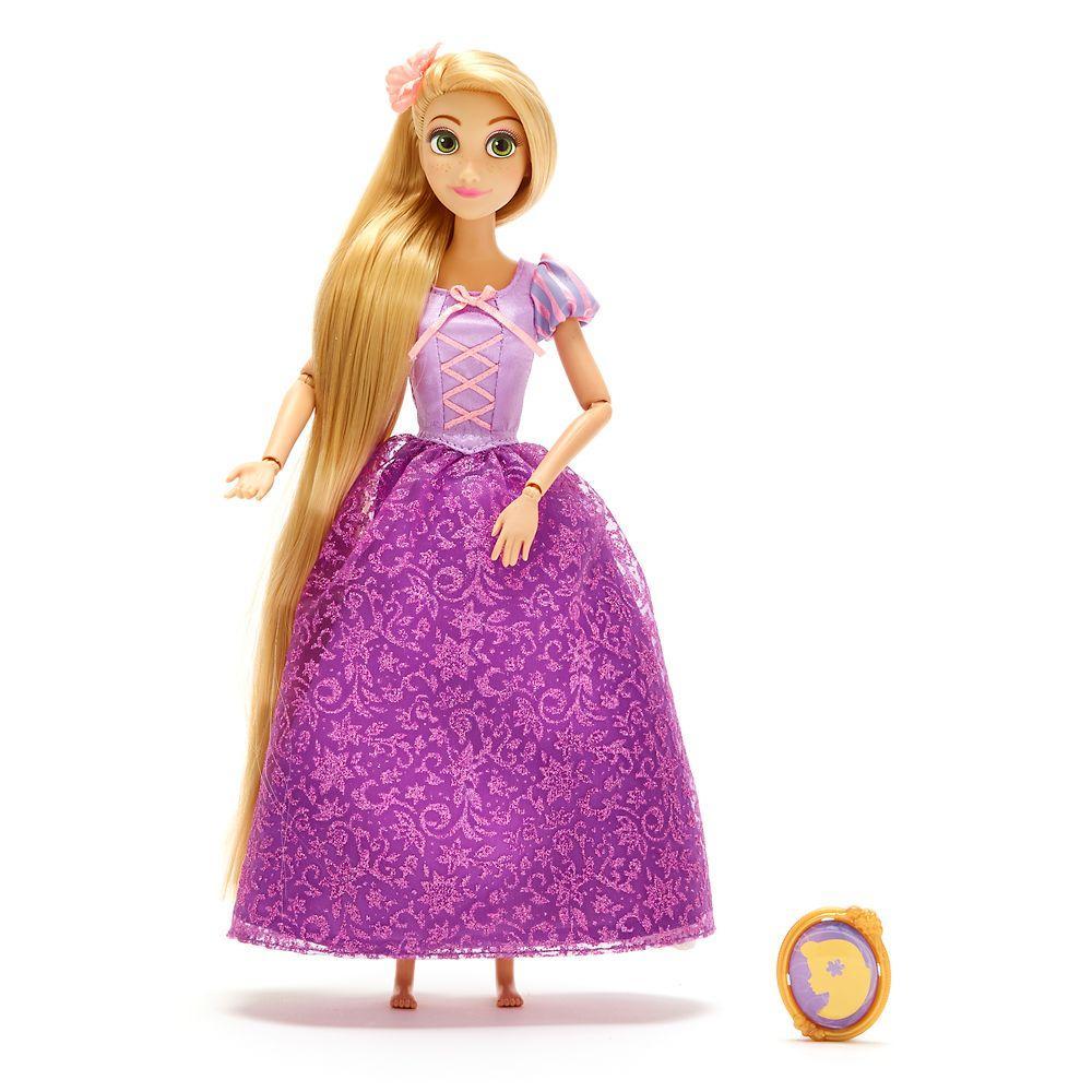 Кукла Рапунцель с драгоценным кулоном - Rapunzel принцесса Дисней куклы Disney