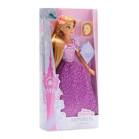 Кукла Рапунцель с драгоценным кулоном - Rapunzel принцесса Дисней - Disney куклы, фото 2
