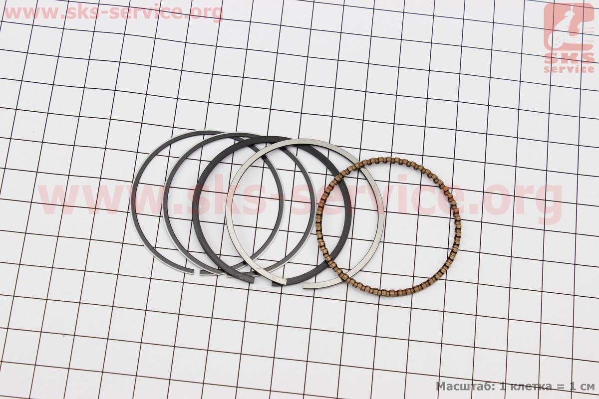 Кільця поршневі 70сс 47мм +0,75 на мопед Delta