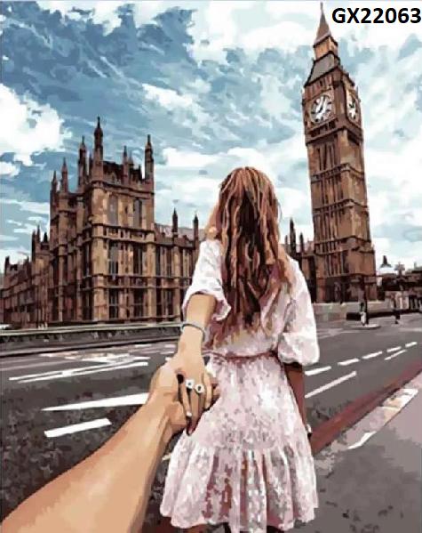 Картина по номерам «Слідуй за мною. Лондон» GX22063