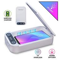 Багатофункціональний стерилізатор UV для телефону та інших предметів з функцією ароматизації Futurika UVX-74, фото 1