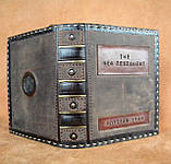 Обложки кожаные книги Библии ручная работа отличный подарок размеры разные, фото 2