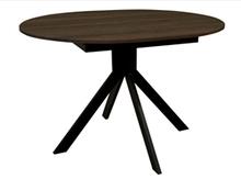 Стол деревянный кухонный Camellia  black/brown 1100(1500)х900