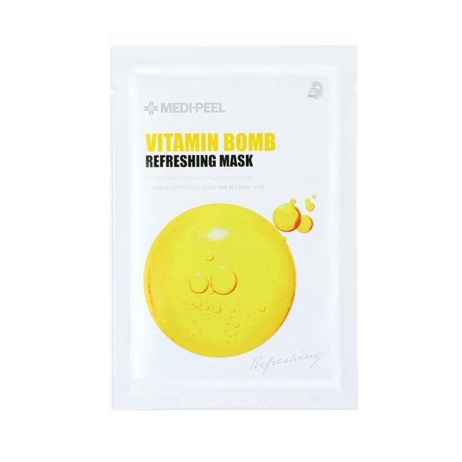 Освежающая тканевая маска с витаминным комплексом Medi-peel Vitamin Bomb Refreshing Mask