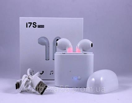 Бездротові bluetooth-навушники i7S TWS, навушники AIRPODS, навушники iPhone TyT