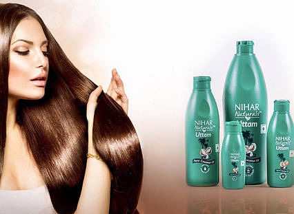 Кокосовое масло для волос Nihar 500мл TyT