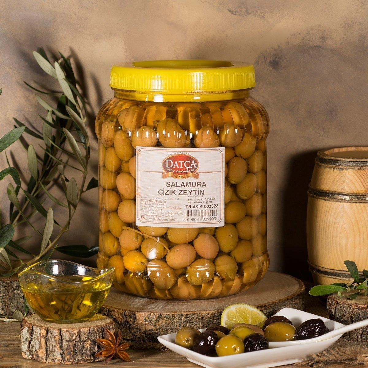 Оливки зеленые маринованные Cizik Datca 2 кг