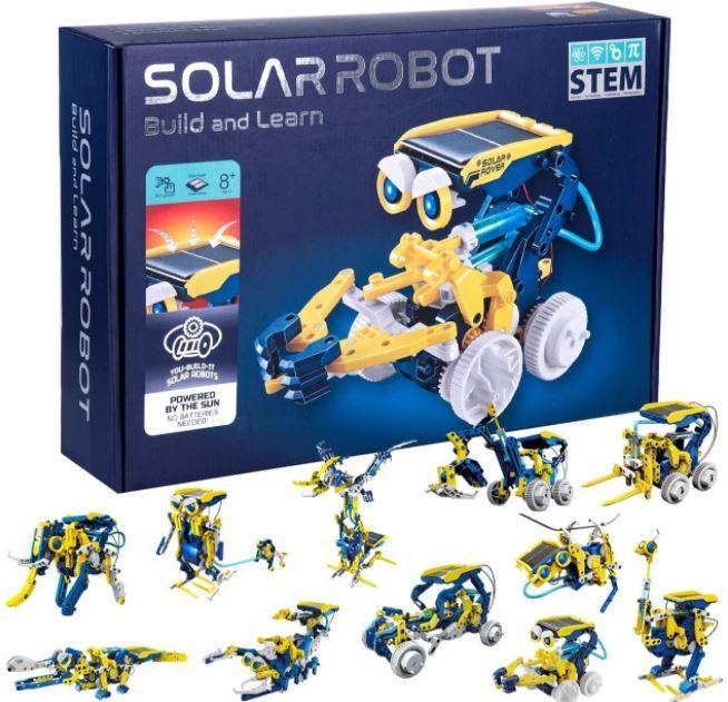 Конструктор робот на солнечной панели 11 в 1 RoboKit TyT