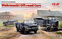 """Сборная модель """"Внедорожные автомобили Вермахта (Kfz.1, Horch 108 Typ 40, L1500A)"""""""