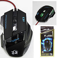 Ігрова миша FANTECH X9 THOR 7 кнопок, 4800 DPI, RGB, фото 1