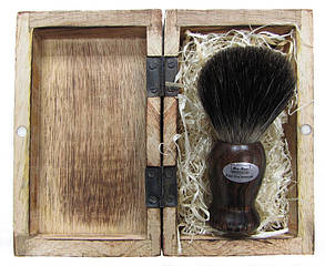 Помазок для бритья Hans Baier 10014-81 Натуральный волос барсука, фото 2
