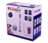 Блендер Livstar 4 в 1 мощность 500 Вт TyT, фото 2