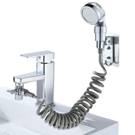 Душевая система на умывальник Modified Faucet With external Shower TyT