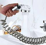 Душевая система на умывальник Modified Faucet With external Shower TyT, фото 2