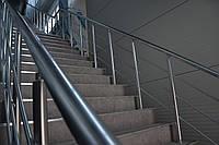 Перила на металевих сходах, фото 1